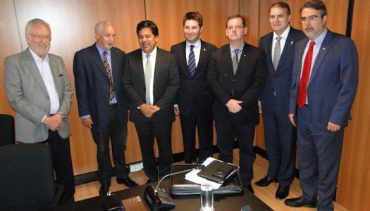 Ministro garante continuidade de obras do campus da UFSM em Cachoeira do Sul