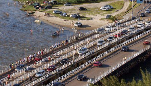 Obras de restauração na ponte Tramandaí-Imbé só devem acontecer após o verão