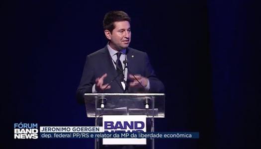 Deputado Jerônimo Goergen participa em São Paulo do Fórum BandNews – Reforma Tributária
